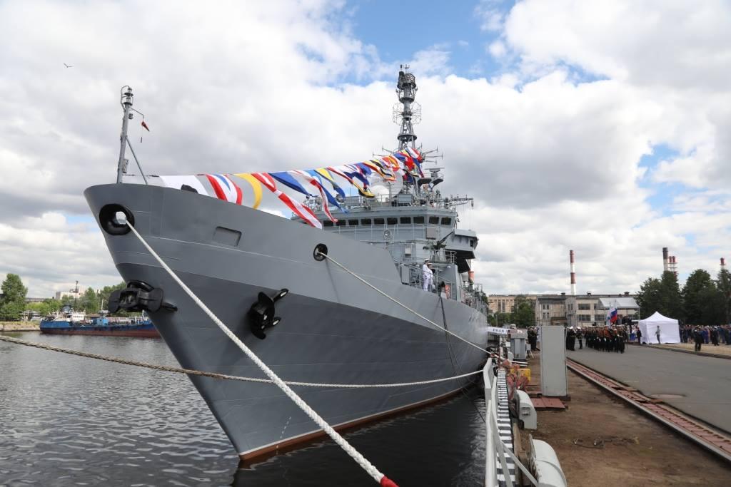 Судно связи «Иван Хурс» вошло в состав ВМФ России