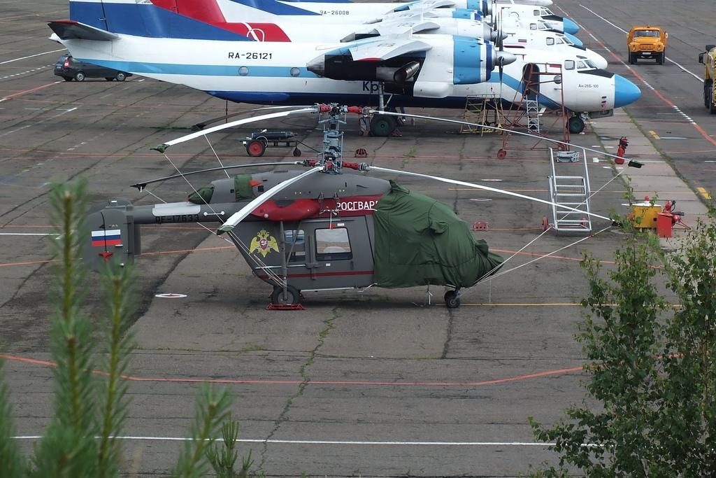 Росгвардия получила первый вертолет Ка-226Т