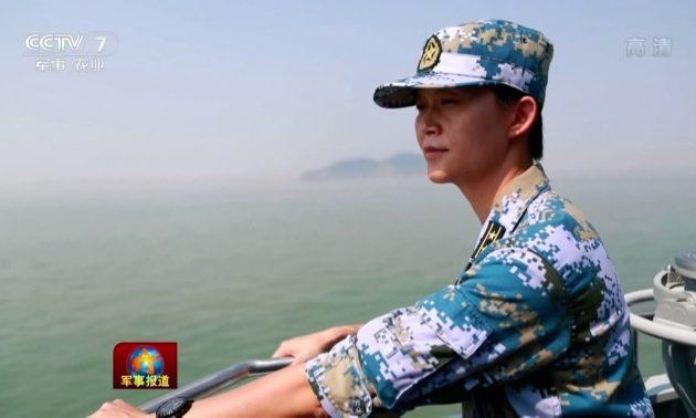 Первая женщина - командир боевого корабля ВМС НОАК