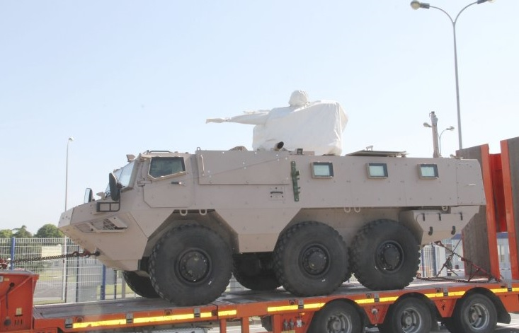 Саудовская Аравия получает бронетранспортеры VAB Mk 3