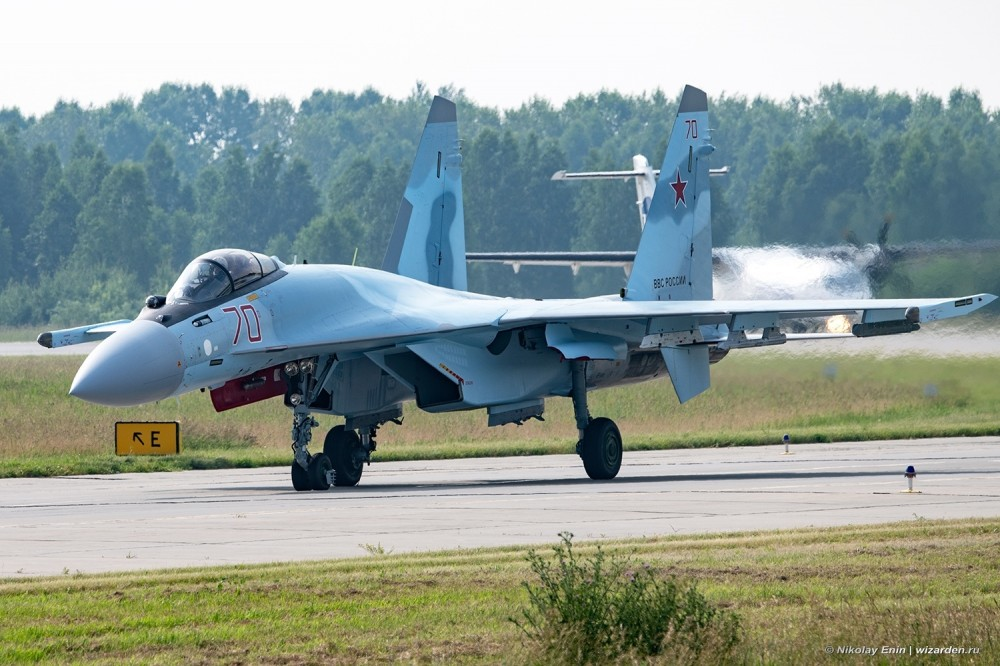 The regiment at the airport Besovets received five more Su-35S Su35S fighters, a regiment, fighters, fighter, aviation,aviation, buildings, KnAAZ, district, 159th, military, mixed, army, division, Besovets, guards, composition, red, Russia, airborne