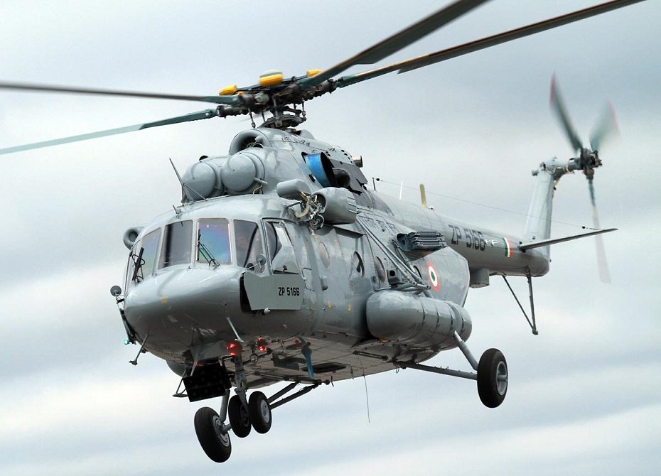 Индия находится в завершающей стадии переговоров относительно приобретения 48 вертолетов Ми-17В-5