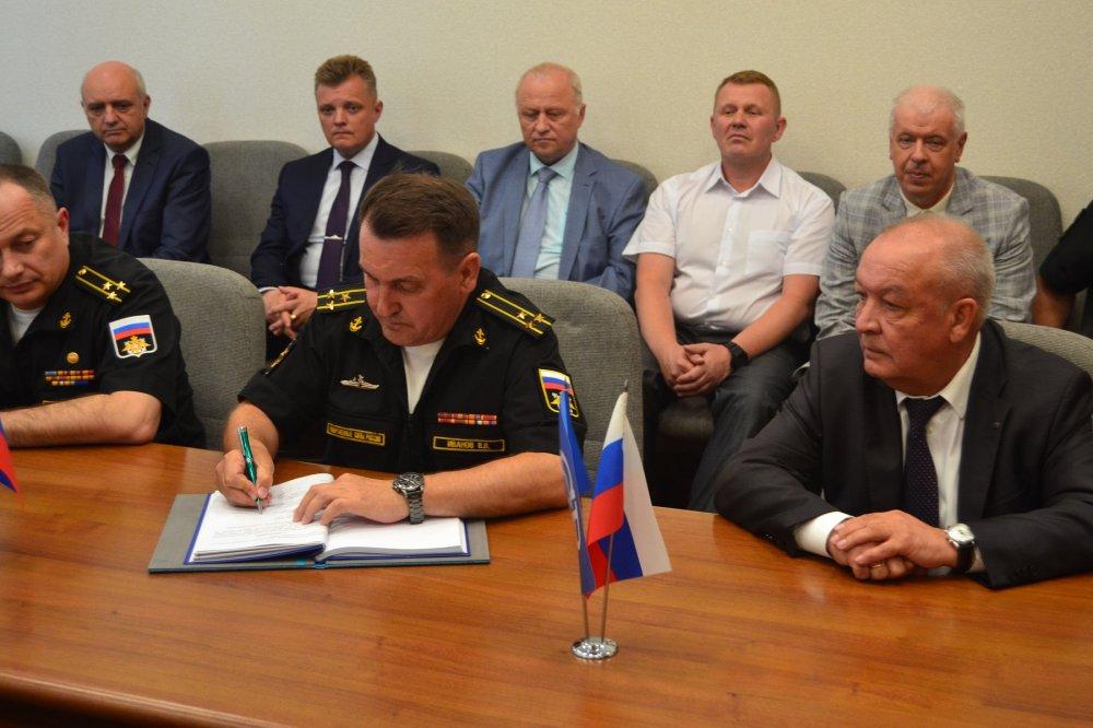 Подписан приемный акт на фрегат «Адмирал флота Советского Союза Горшков»
