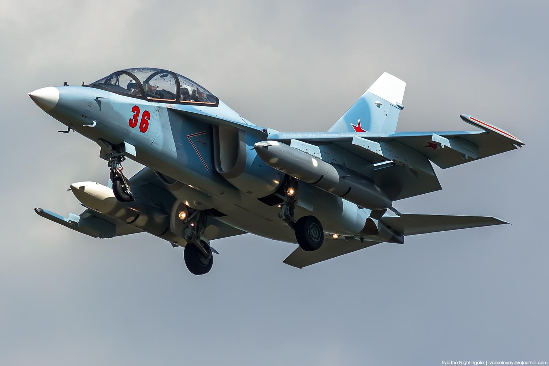 ВКС России получили еще три самолета Як-130
