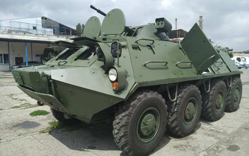 Очередной украинский вариант модернизации БТР-60