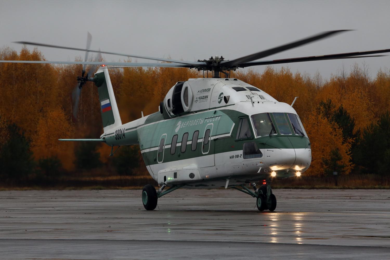Сертификация гражданского варианта вертолета Ми-38-2
