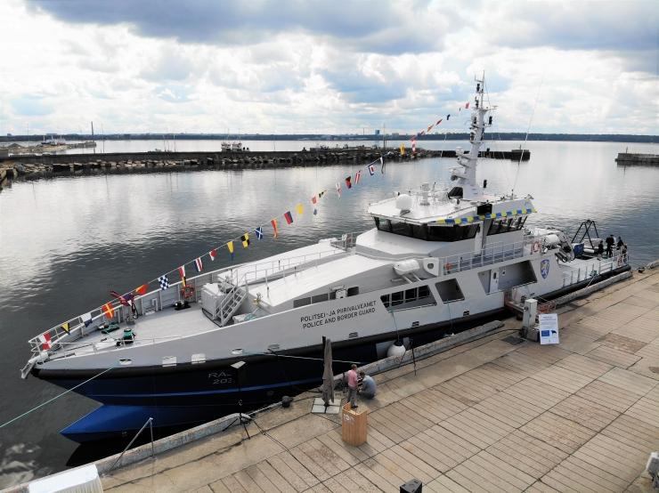 Новый эстонский патрульный корабль