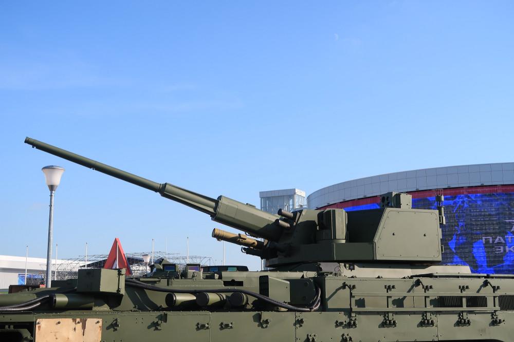 Тяжелая боевая машина пехоты Т-15 с боевым модулем с 57-мм автоматической пушкой тяжелой, боевой, вариант, Новый, Буревестник, автоматической, боевым, модулем, разработки, Армата, платформе, гусеничной, перспективной, Объект, пехоты, машины, 9М120, необитаемым, Атака, Армия2018