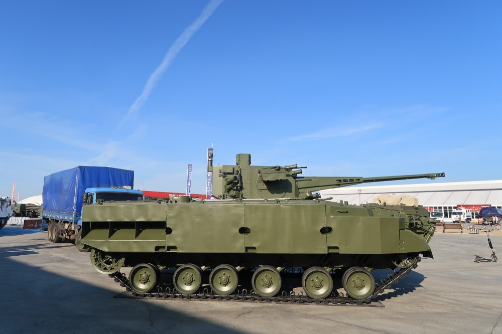 تطوير نسخه من مدرعه BMP-3 بمدفع اوتوماتيكي عيار 57 ملم  5802331_1000
