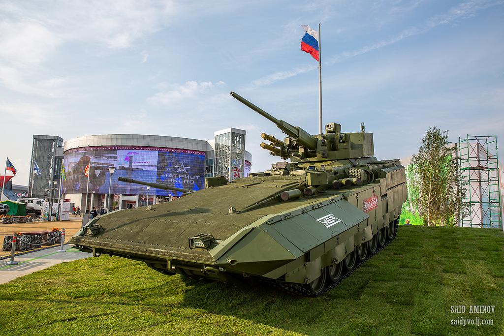 Международный военно-технический форум «Армия-2018» - первый день