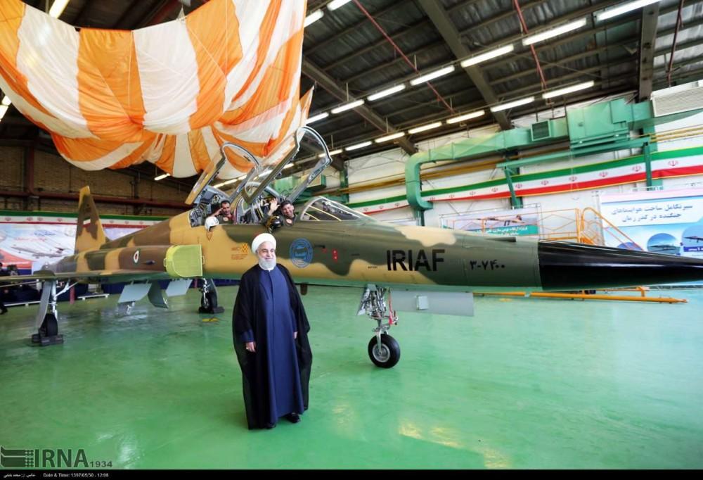 Очередная иранская реинкарнация истребителя F-5