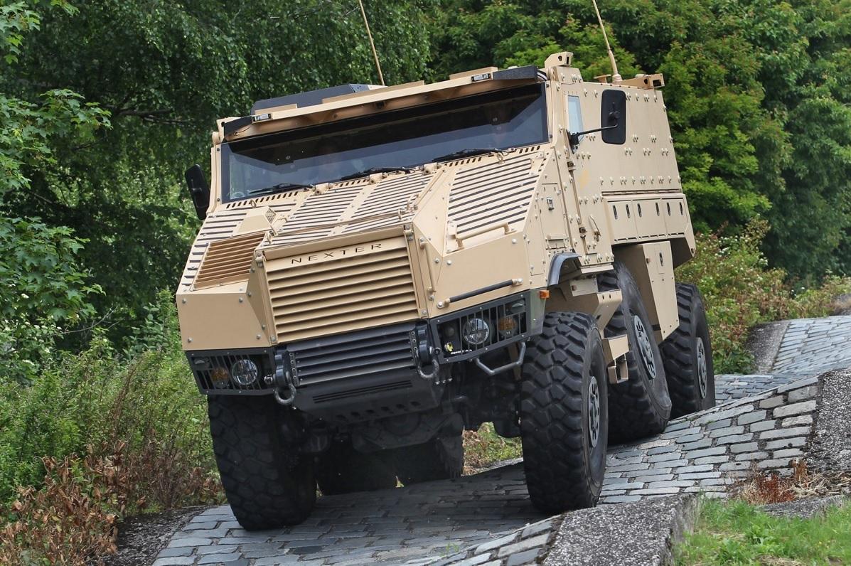 Армия Чехии получит 62 бронированные машины TITUS