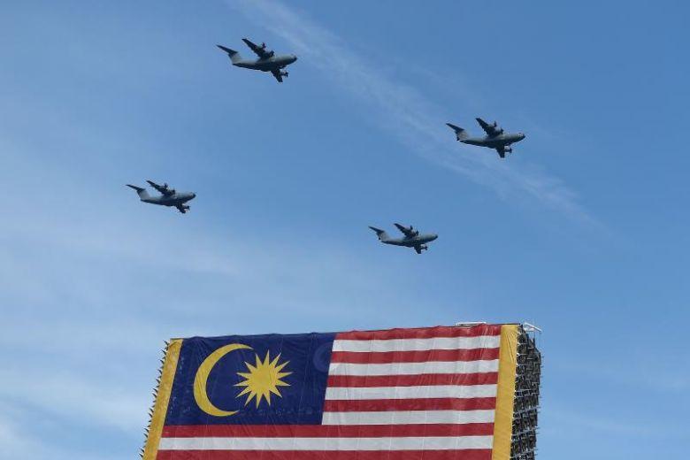 Военный парад в честь Дня независимости Малайзии