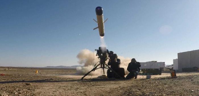 Новая израильская противотанковая управляемая ракета Spike ER II