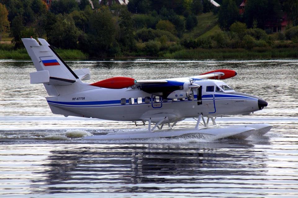 Начаты испытания поплавкового варианта самолета L-410UVP-E20