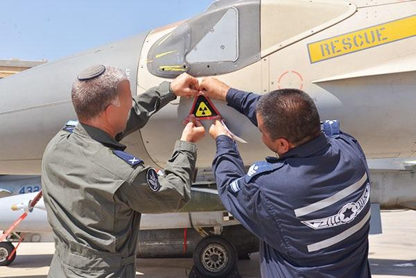 ВВС Израиля ввели знак для самолётов-участников операции по уничтожению сирийского реактора в 2007 г