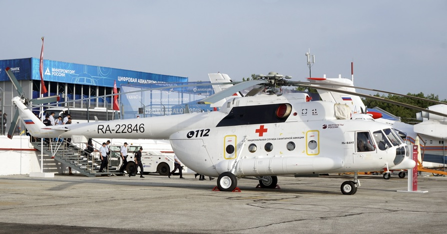 A contract was signed for the supply of 150 air ambulance helicopters, ambulance, Rostec, general, director, Russia, Mi8AMT, service, project, Russia, Helicopters, State Corporation, service, National, assistance, rendering, framework, emergency, project