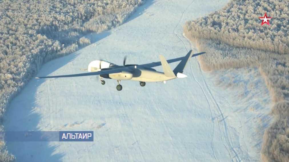 Летные испытания российского тяжелого беспилотного летательного аппарата «Альтаир»