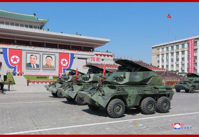 Новый северокорейский ракетный комплекс