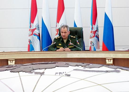 Заседание Коллегии Министерства обороны Российской Федерации