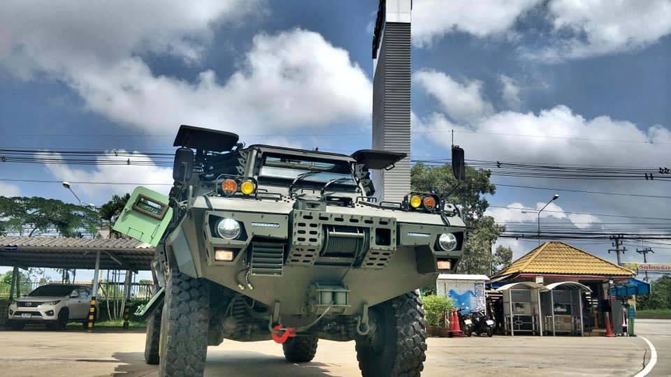 Модернизация американских бронетранспортеров Commando V-150 в Таиланде