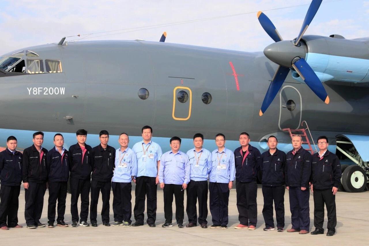 Первый военно-транспортный самолет Y-8F-200WA вылетел в Казахстан