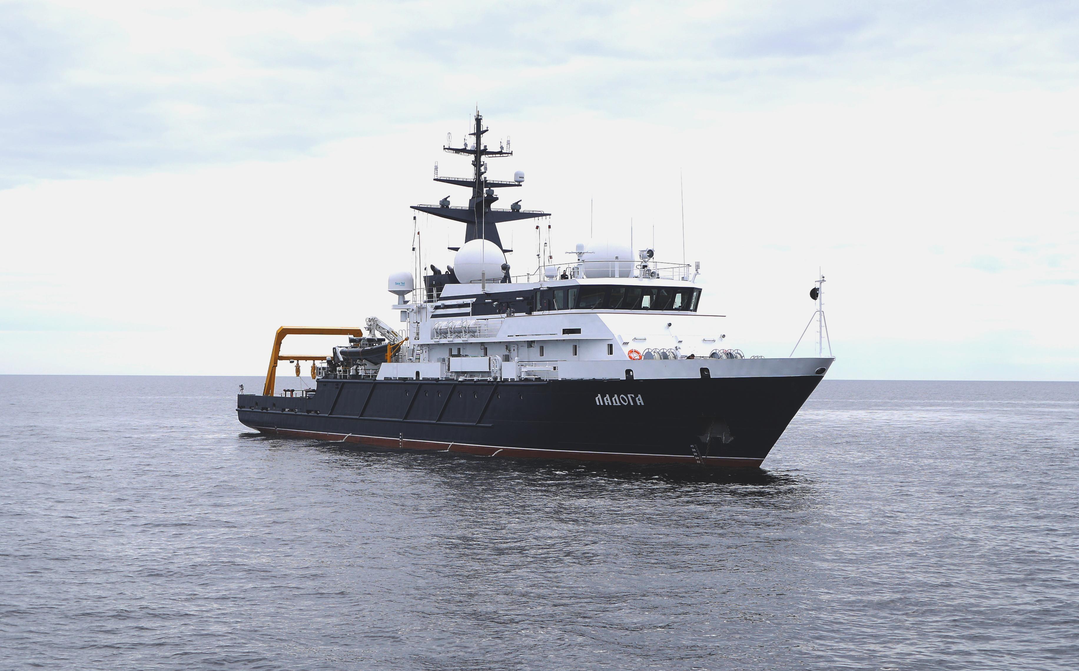 Опытовое судно «Ладога» проекта 11982 вошло в состав ВМФ России