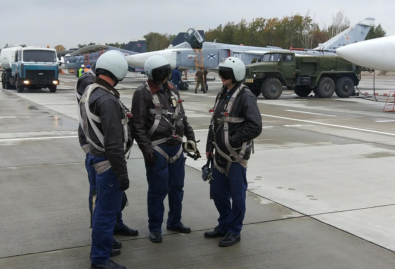 Авиация Балтийского флота возвращается на аэродром Чкаловск