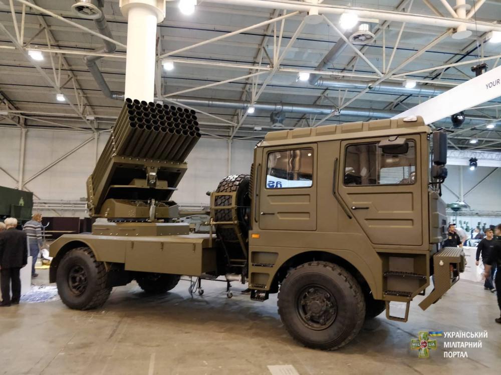 Новые образцы украинского вооружения на выставке «Зброя та безпека 2018»