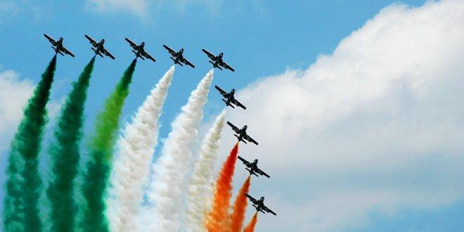 Парад в честь 86-летия ВВС Индии