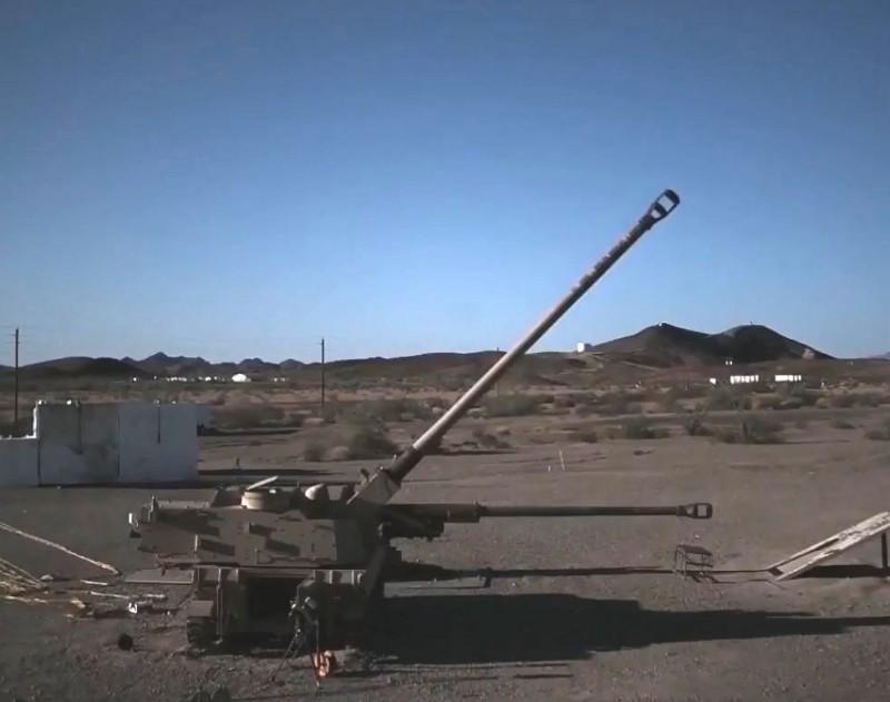 Американская экспериментальная самоходная гаубица со 155-мм стволом ХМ907 длиной в 58 калибров
