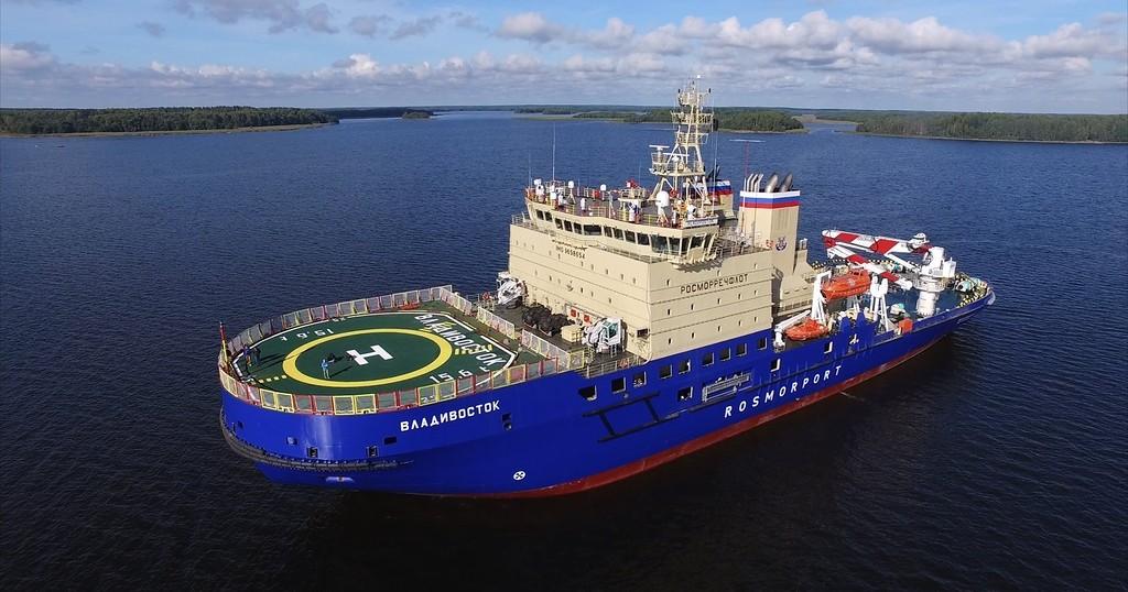 """""""Росморпорт"""" предлагает построить еще два дизель-электрических ледокола проекта 21900М"""