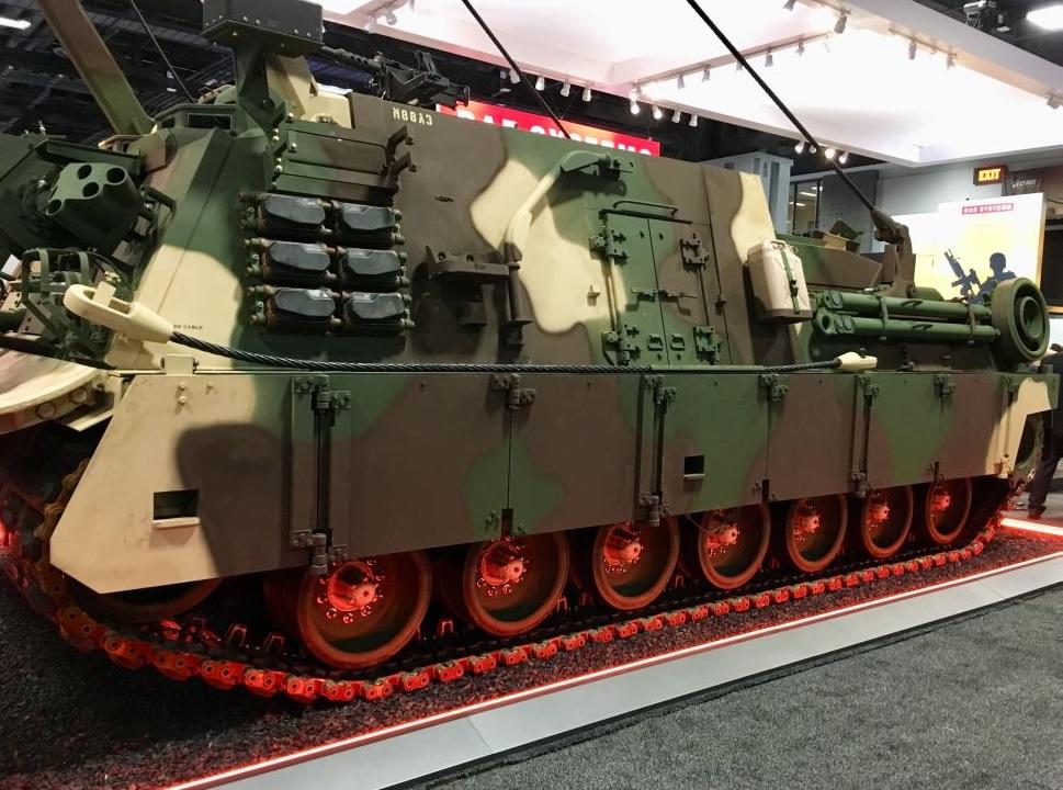 Перспективная американская бронированная ремонтно-эвакуационная машина М88А3