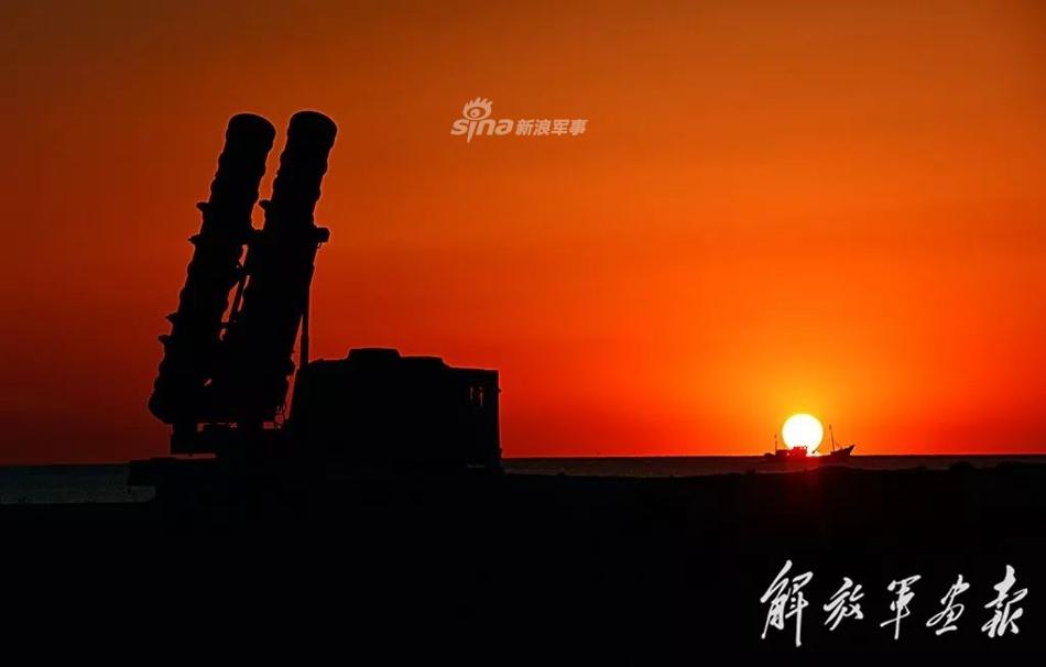 Стрельбы новейшего китайского зенитного ракетного комплекса HQ-22