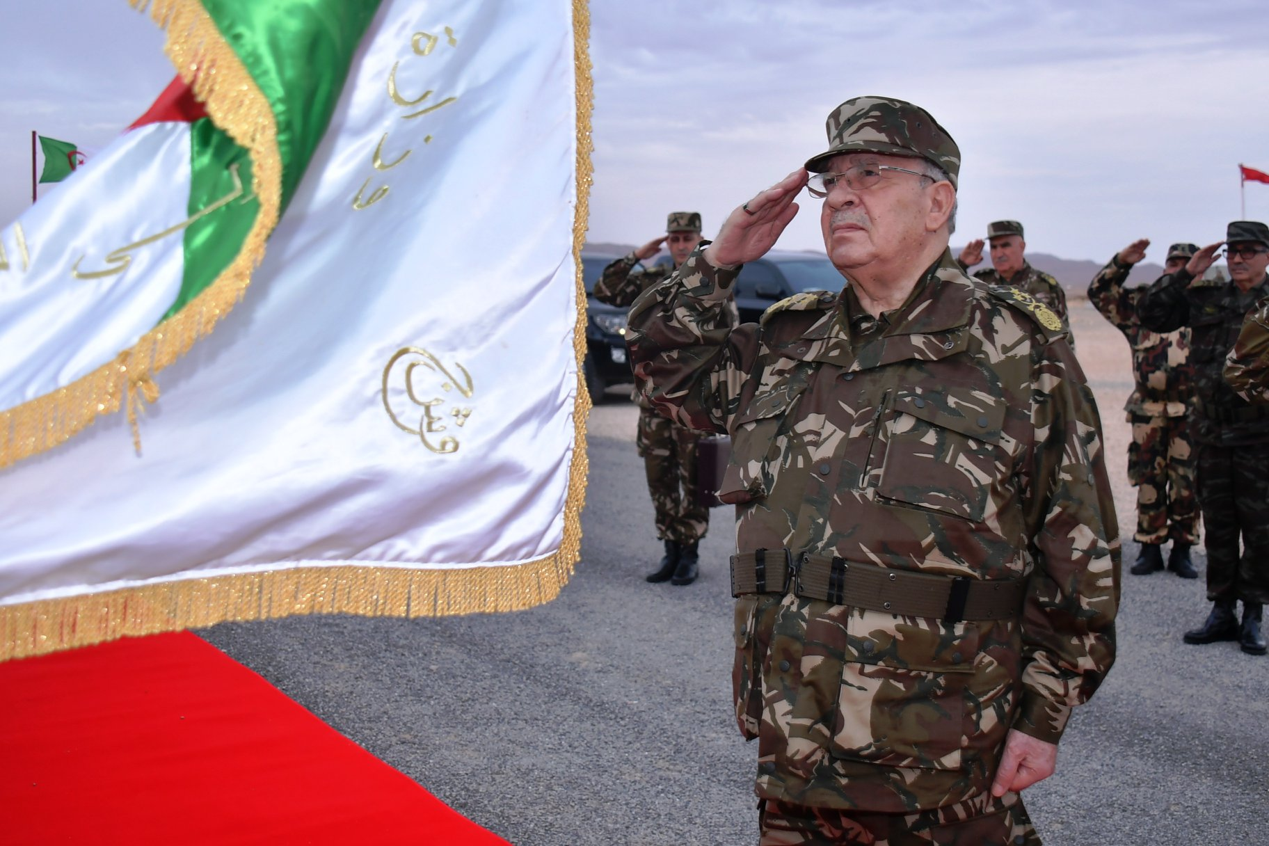 Учения войск 5-го военного округа Национальной народной армии Алжира