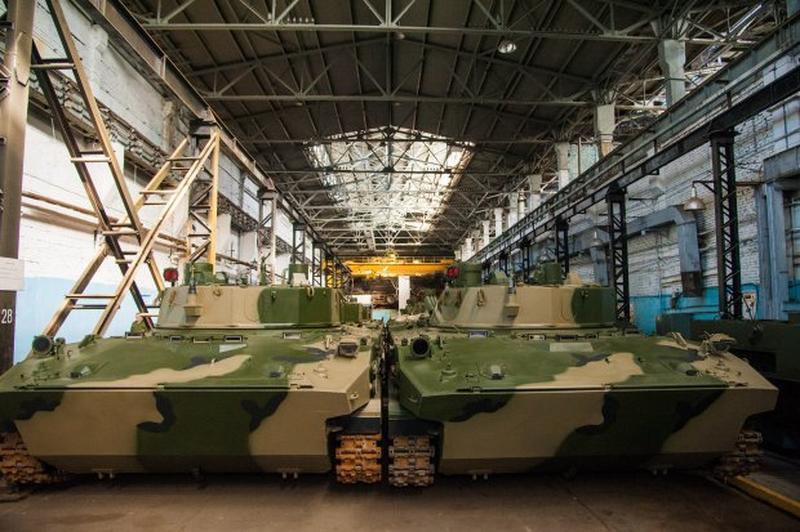 Производство БМД-4М и «Спрут-СДМ1» на Волгоградском тракторном заводе