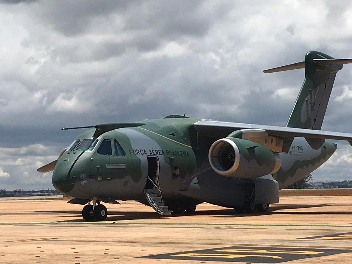 Бразильский военно-транспортный самолет Embraer KC-390 получил сертификат типа ANAC