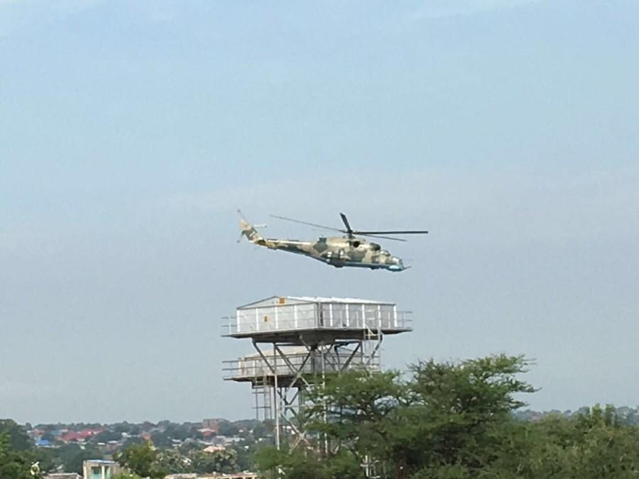 Экспорт вертолетов Ми-24В с Украины в Южный Судан