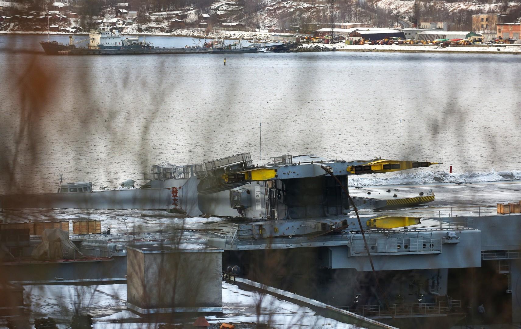 Aircraft Carrier Admiral Kuznetsov: News #2 - Page 7 6112365_original