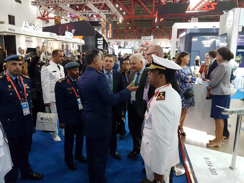 ОАК на выставке Indo Defence 2018 в Индонезии стенде, Индонезии, делегации, «ОАК», также, компании, Бе200, регионе, сотрудничеству, Джакарте, Чернов, выставке, военнотехническому, региона, Defence, стран, военные, направления, перспективного, учебные