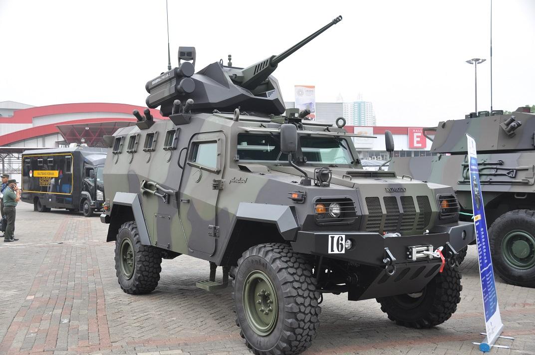 Индонезийская бронетанковая техника на выставке Indo Defense 2018. Часть 2