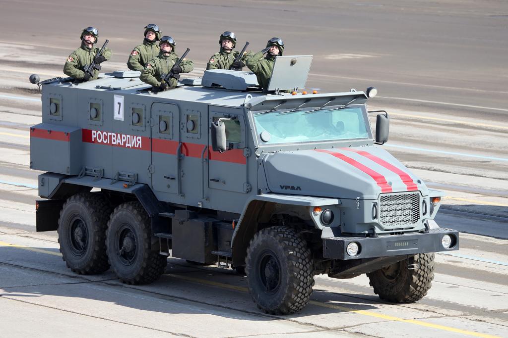 Группу ГАЗ поддержат через Росгвардию
