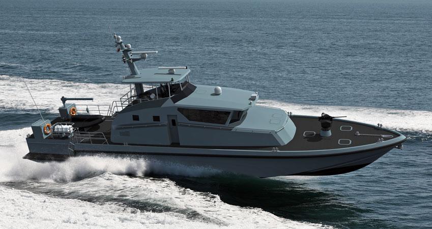 Турецкая компания ARES построит 14 сторожевых катеров для береговой охраны Омана