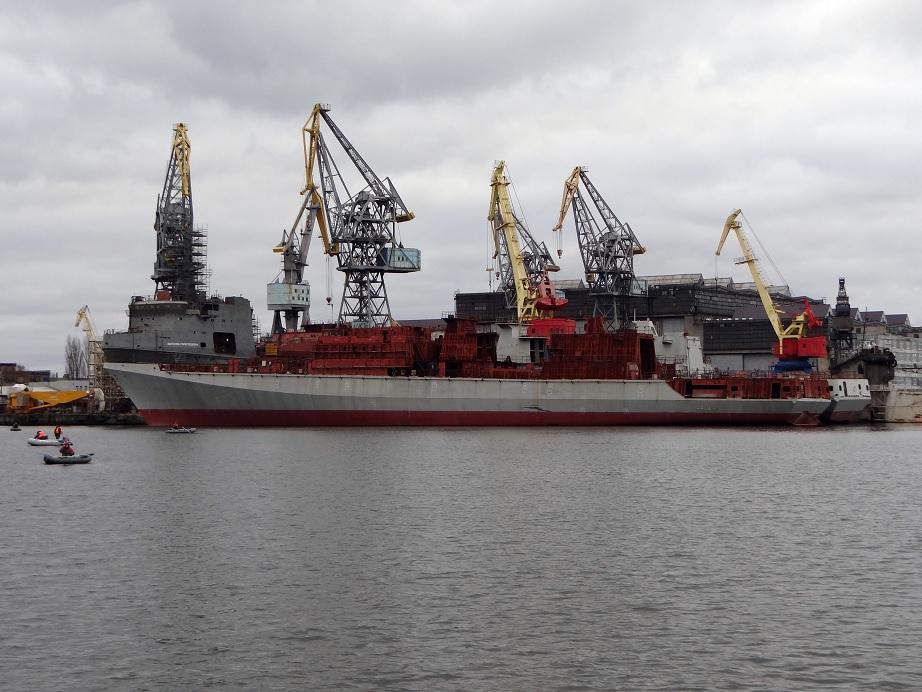 """ГТА М7Н-1Э """"Зори-Машпроект"""" для двух фрегатов проекта 11356 уже отправлены Индии через Россию"""