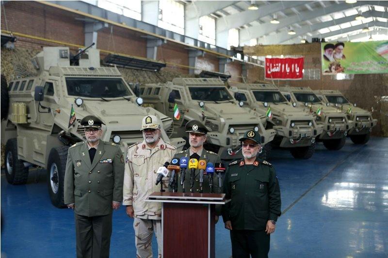 Иранская бронированная машина Toufan типа MRAP пошла в производство