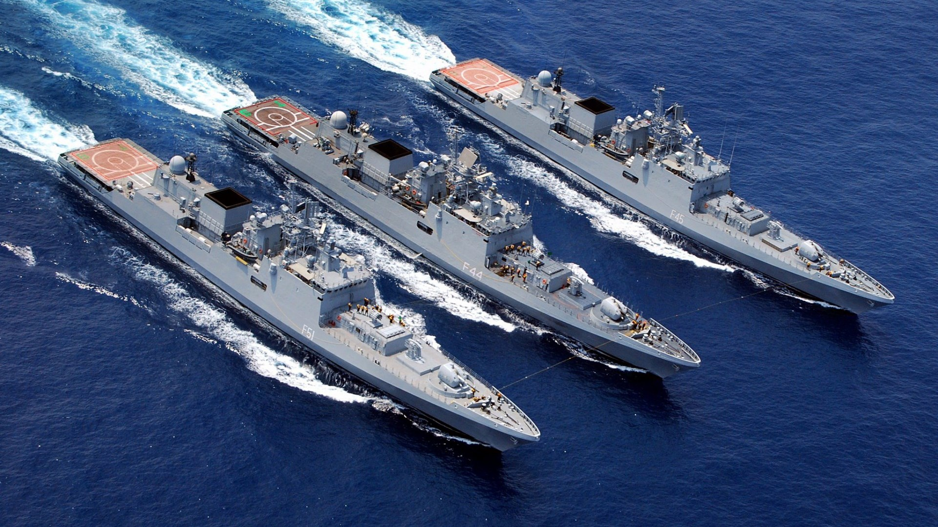 Заключен контракт на постройку в Индии двух фрегатов проекта 11356