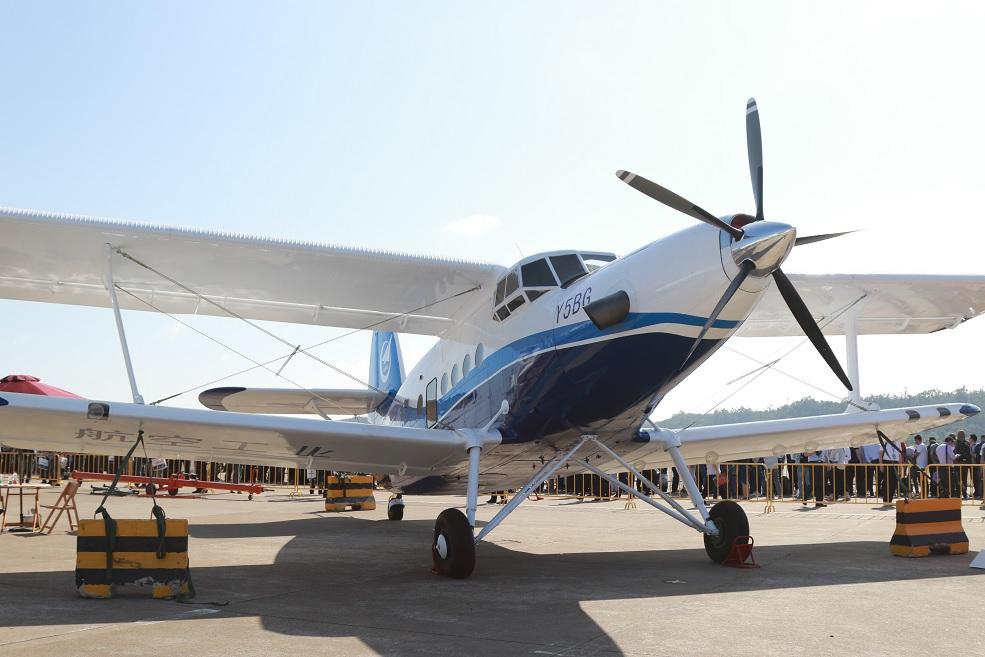 Китайский ремоторизованный вариант Ан-2