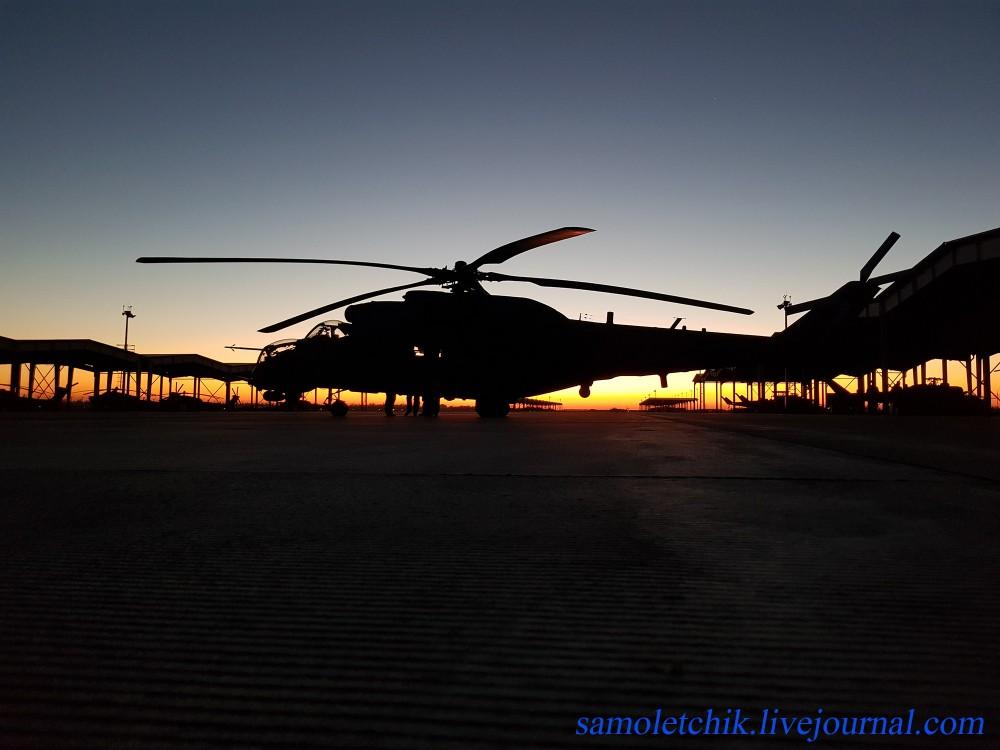 Фоторепортаж из 55-го отдельного вертолетного полка в Кореновске