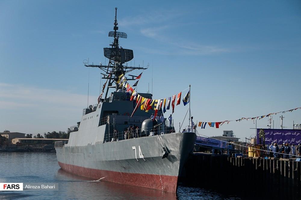 Ввод в строй нового иранского фрегата Sahand