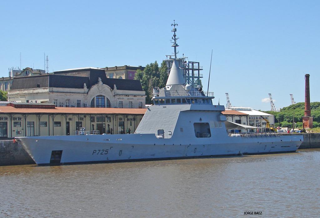 Аргентина финализовала контракт на четыре французских патрульных корабля типа Gowind